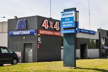 Profesionalus autoservisas Vilniuje MARTONAS